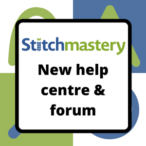 New help centre for Stitchmastery