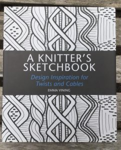 Book cover: A Knitter's Sketchbook by Emma Vining